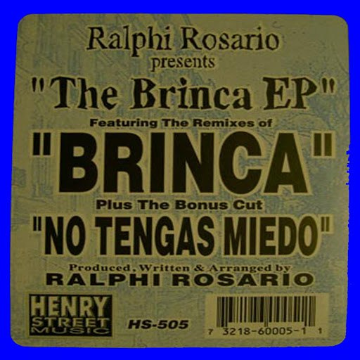 ralphi rosario альбом The Brinca EP (Remastered)