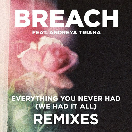 Breach альбом Everything You Never Had (We Had It All) (feat. Andreya Triana) [Remix Package]