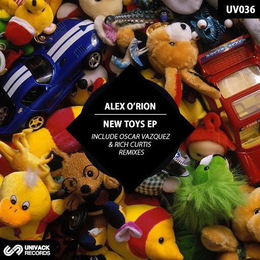Alex O'Rion альбом New Toys