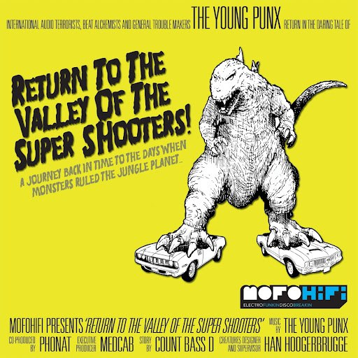 The Young Punx альбом Return to the Valley of the Super Shooters