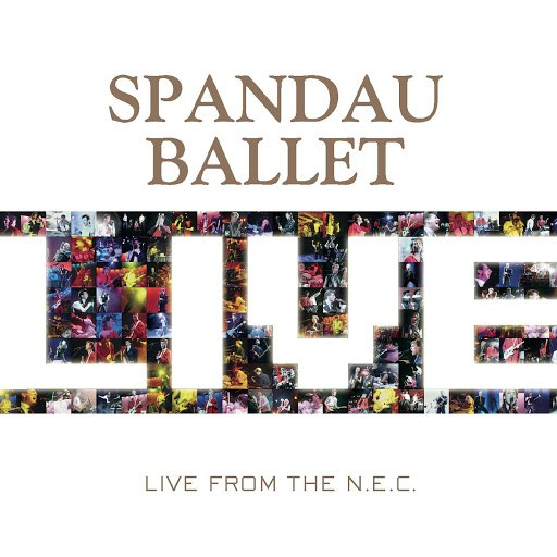 Spandau Ballet альбом Live At The NEC