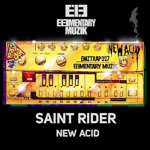 Saint Rider альбом New Acid