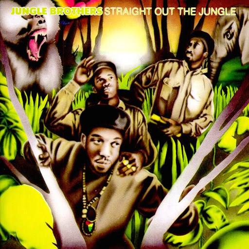 Jungle Brothers альбом Straight Out The Jungle