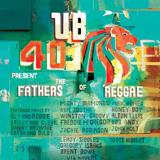UB40 альбом UB40 Present The Fathers Of Reggae
