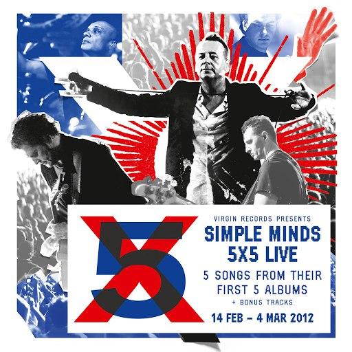 Simple Minds альбом 5x5 Live