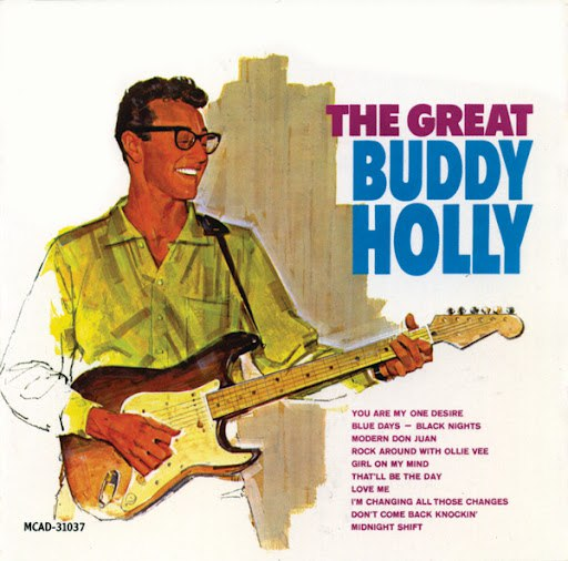 Buddy Holly альбом The Great Buddy Holly