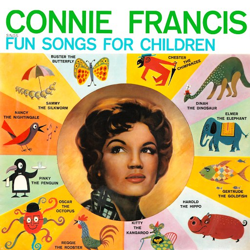 Connie Francis альбом Fun Songs For Children