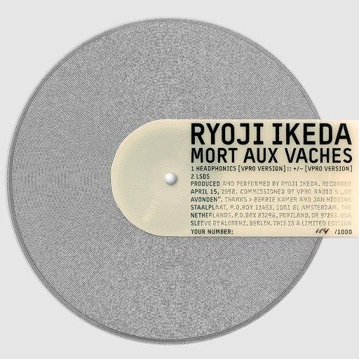 Ryoji Ikeda альбом Mort Aux Vaches
