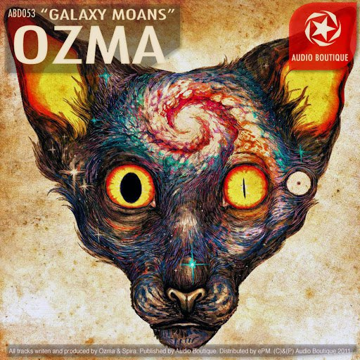 Ozma альбом Galaxy Moans