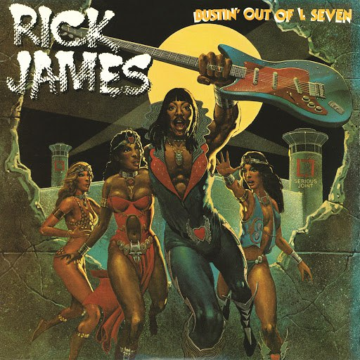 Rick James альбом Bustin' Out of L Seven