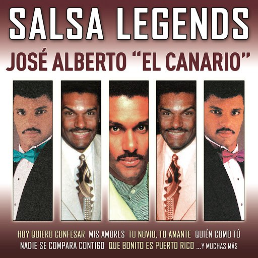 "José Alberto ""El Canario"" альбом Salsa Legends"