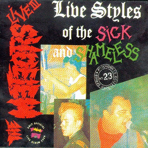 The Meteors альбом Live Styles Of The Sick And Shameless (Live)