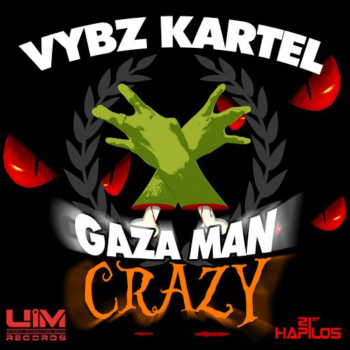 Vybz Kartel альбом Gaza Man Crazy - EP