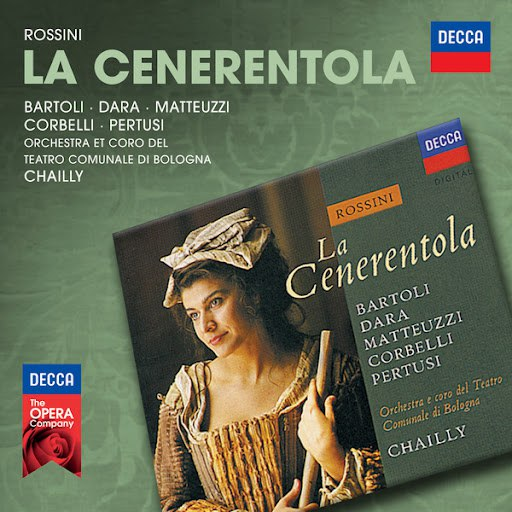 Cecilia Bartoli альбом Rossini: La Cenerentola (1992)