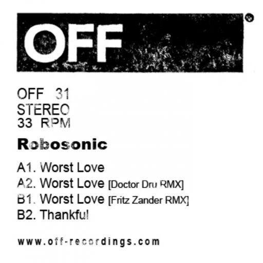 Robosonic альбом Worst Love EP