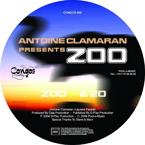 Antoine Clamaran альбом Zoo