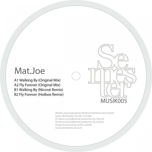 Mat.Joe альбом Walking by and Fly forever EP