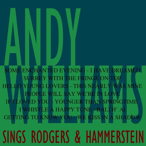 Andy Williams альбом Sings Rodgers & Hammerstein