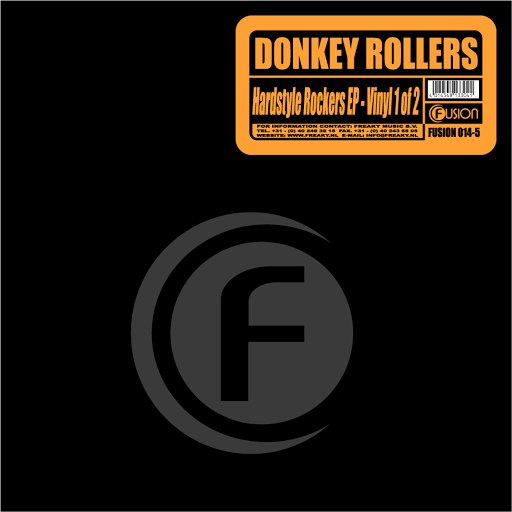 Donkey Rollers альбом Hardstyle Rockers (EP 1)