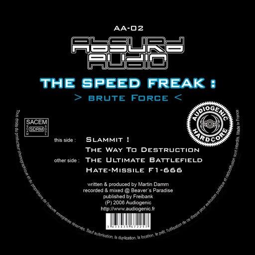 The Speed Freak альбом Brute Force
