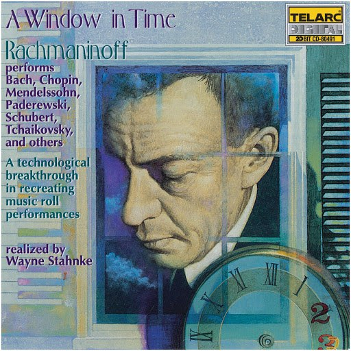 Sergei Rachmaninoff альбом A Window In Time - Rachmaninoff performs works of other composers