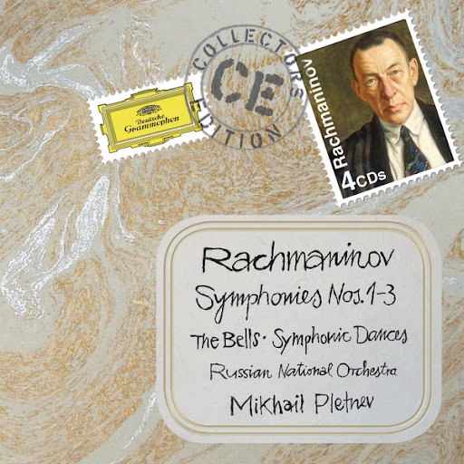 Sergei Rachmaninoff альбом Rachmaninov: Symphonies Nos.1-3; The Bells; Symphonic Dances