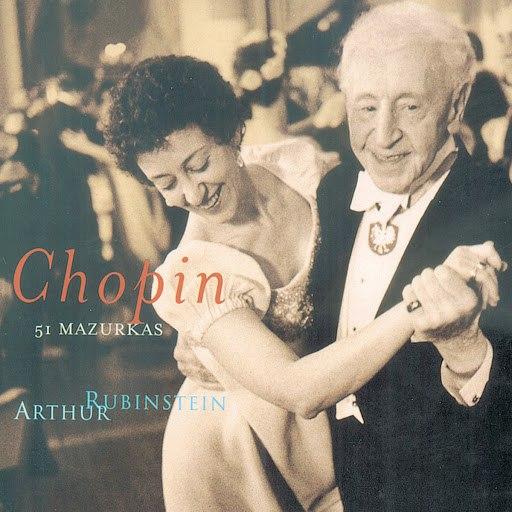 Frédéric Chopin альбом Rubinstein Collection, Vol. 50: Chopin: 51 Mazurkas