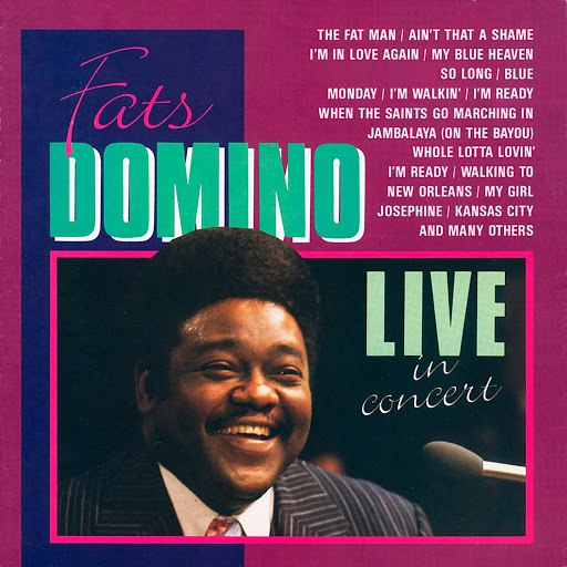 Fats Domino альбом Live in Concert