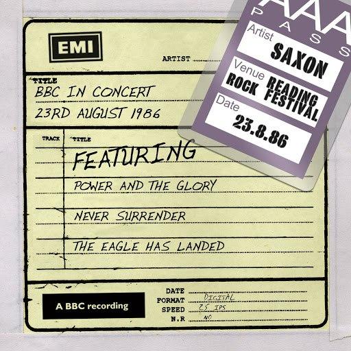 Saxon альбом BBC In Concert [23rd August 1986]