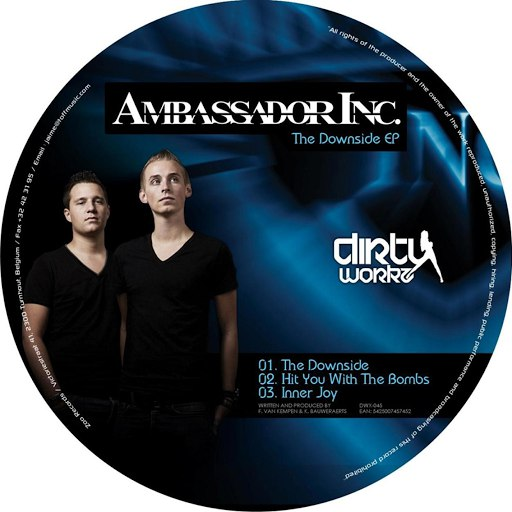 Ambassador Inc альбом The Downside EP