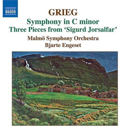 Edvard Grieg альбом Symphony in C Minor/Three Pieces From 'Sigurd Jorsalfar'
