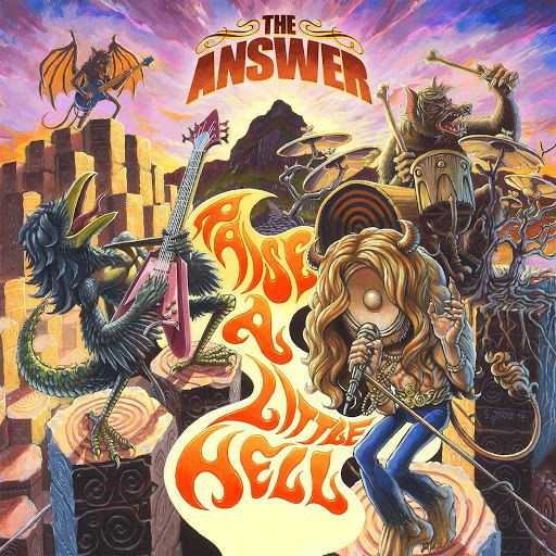 The Answer альбом Raise A Little Hell (Deluxe Version)