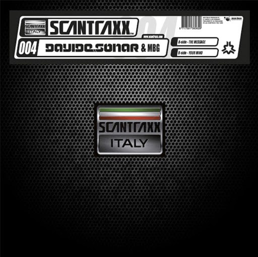 Davide Sonar альбом Scantraxx Italy 004