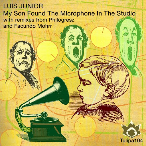 luis junior альбом My Son Found The Microphone In The Studio