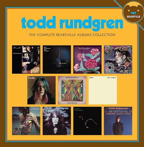 Todd Rundgren альбом The Complete Bearsville Album Collection