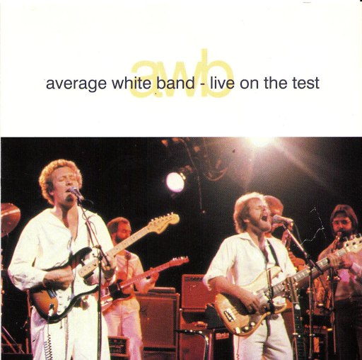Average White Band альбом Live On The Test