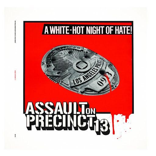 John Carpenter альбом Assault On Precinct 13 (A White-Hot Night Of Hate!)
