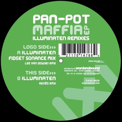 Pan-Pot альбом Maffia EP Illuminaten Remixes
