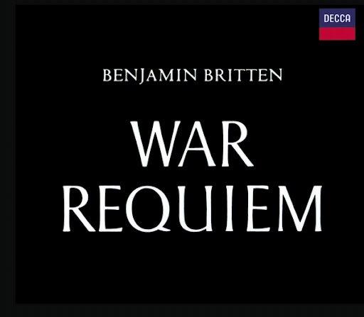 Benjamin Britten альбом Britten: War Requiem (conducted by Britten)