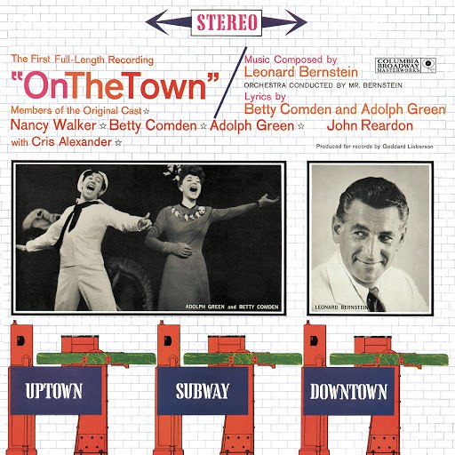 Leonard Bernstein альбом On the Town (original cast recording)
