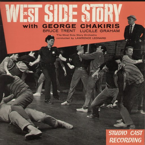 Leonard Bernstein альбом West Side Story (Studio Casting Recording)