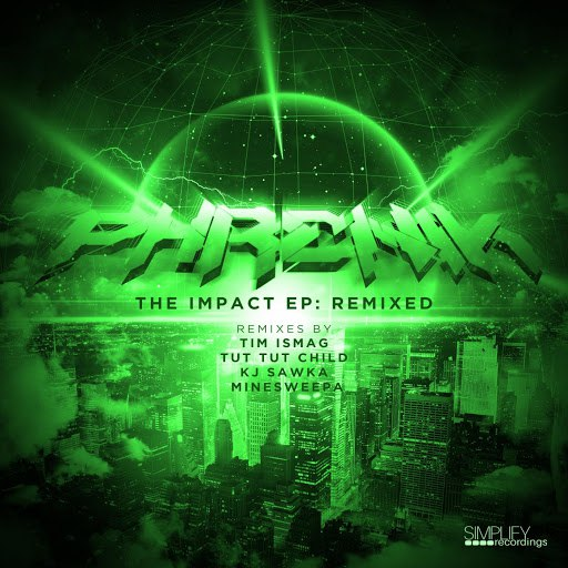 Phrenik альбом The Impact EP: Remixed