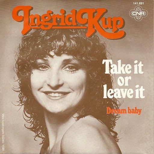 Ingrid Kup альбом Take It Or Leave It