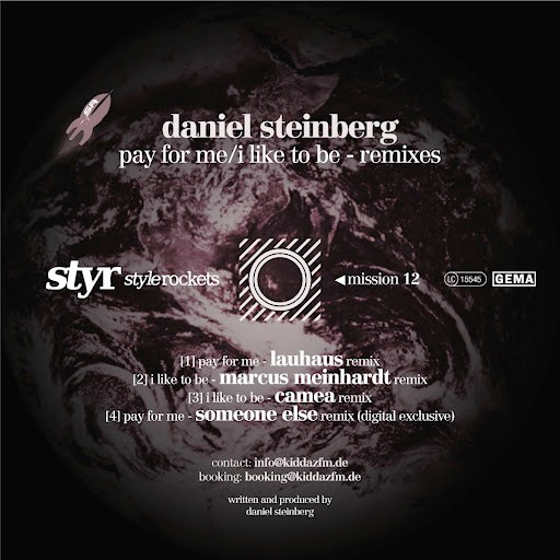 Daniel Steinberg альбом Pay For Me / I Like To Be - EP