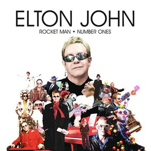Elton John альбом Rocket Man - Number Ones