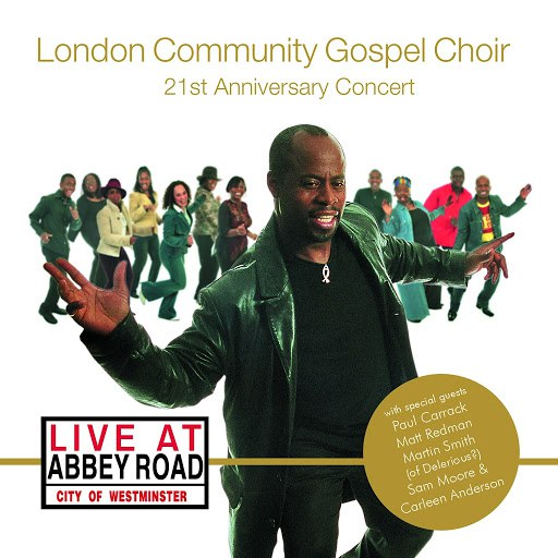 London Community Gospel Choir альбом Live at Abbey Road