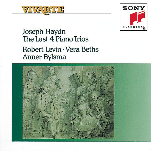 Anner Bylsma альбом Haydn: The Last 4 Piano Trios