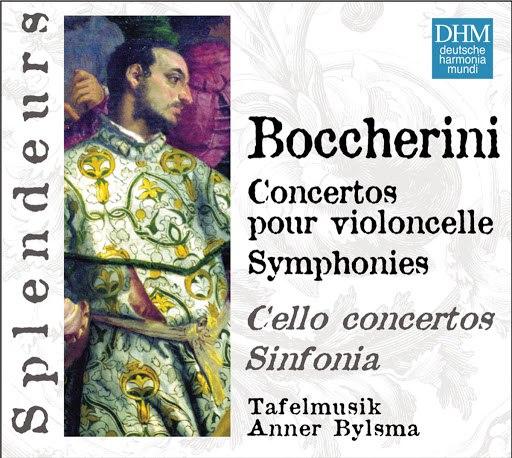 Anner Bylsma альбом Boccherini: Concertos Violoncelle