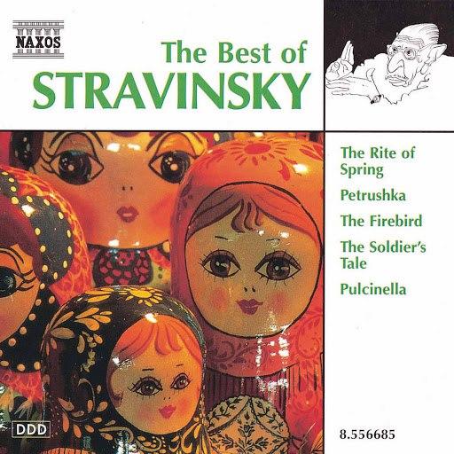 Bournemouth Sinfonietta альбом Stravinsky (The Best Of)