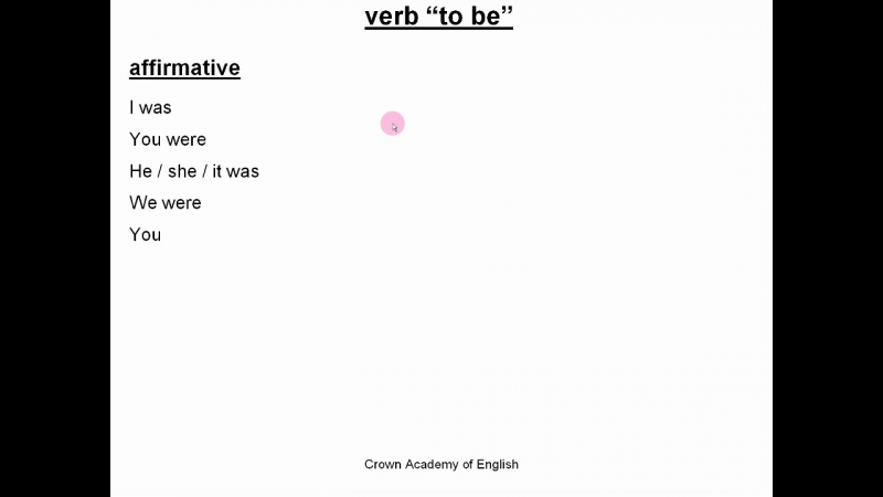 Past simple tense - English grammar rules